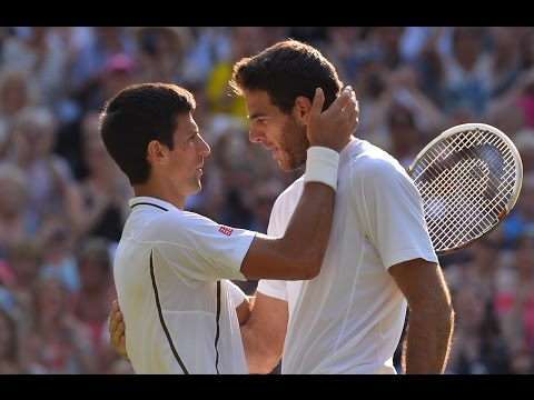 Djokovic VS Del Potro Highlight (Wimbledon) 2013 SF