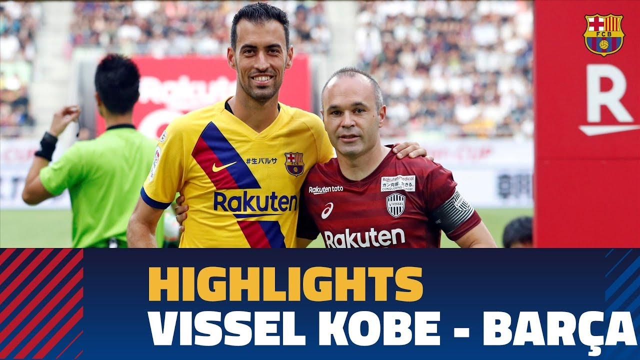 VISSEL KOBE 0 - 2 BARÇA | Match Highlights - YouTube
