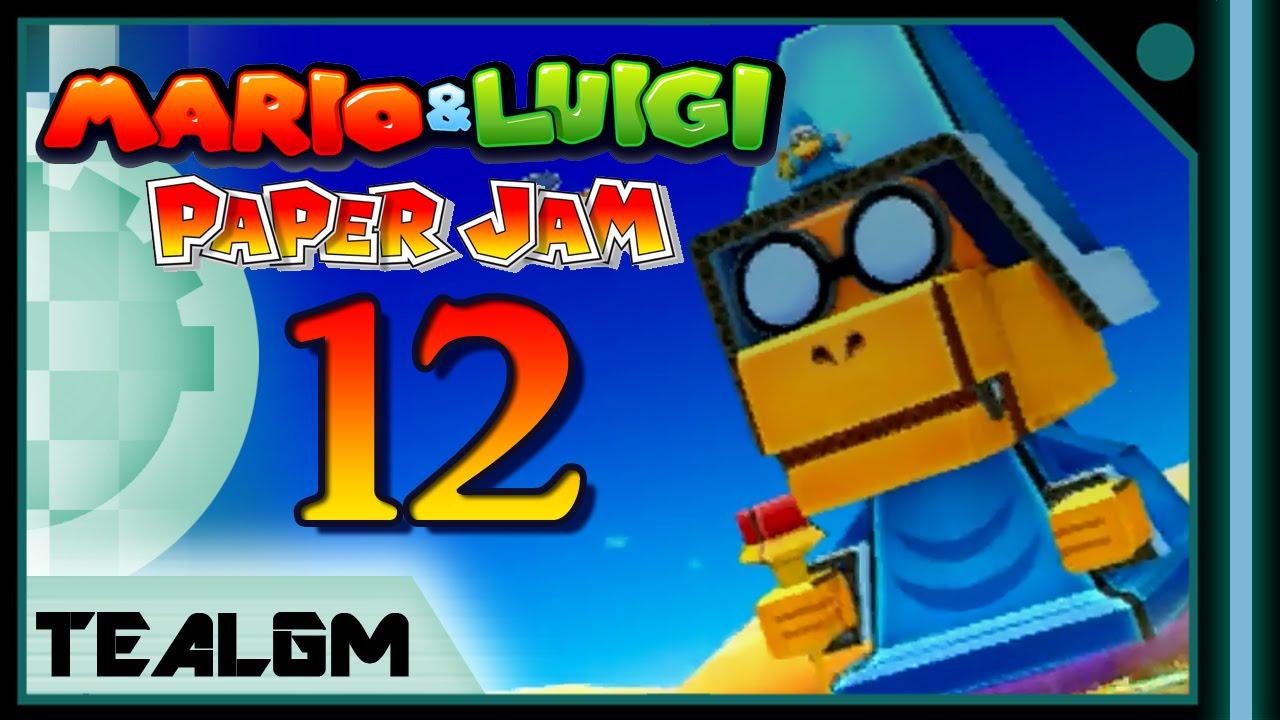 Papercraft Mario & Luigi: Paper Jam Bros. - Part 12: Papercraft Kamek Boss