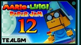 Mario & Luigi: Paper Jam Bros. - Part 12: Papercraft Kamek Boss