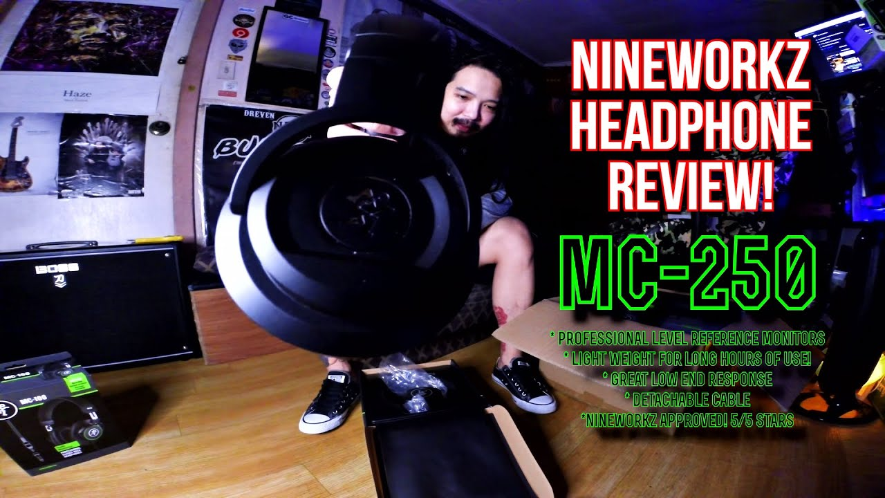 Download Mackie MC-250 Unboxing and Review!