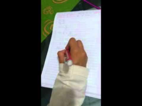Vídeo matemáticas