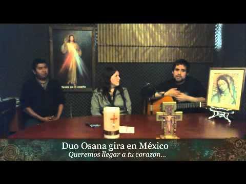 Duo Hosanna en Radio Doxa - Monterrey