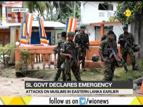 Sri Lanka declares emergency post riots