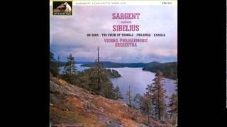 Karelia Suite Jean Sibelius Sir Malcolm Sargent Vienna Philharmonic Orchestra