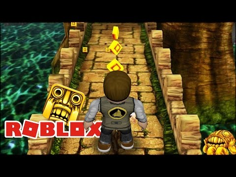 Roblox: TEMPLE RUN NO ROBLOX!!!