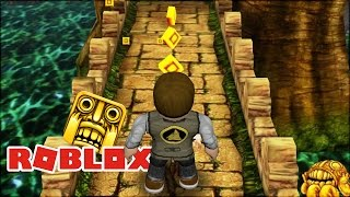 Roblox: TEMPLE RUN NO ROBLOX!!!