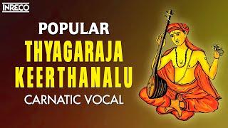Popular Thyagaraja Keerthanalu   Thiruvaiyaru Tyagayya Aradhana   Stalwarts Of Carnatic Music