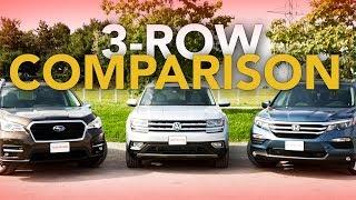 2019 Subaru Ascent vs Honda Pilot vs VW Atlas: Three-Row-Throwdown