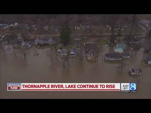 Thornapple Lake continues to rise