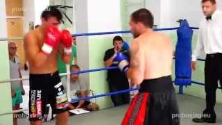 Zaurs Sadihovs – 70,1 kg VS Ritvars Kravčenko  – 68,2 kg proboxing.eu