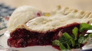Pie Recipe - How To Make Blackberry And Blueberry Pie