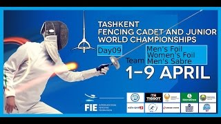Junior Fencing World Championships 2015 Day09 - 3rd & Finals