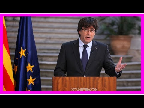 US Newspapers - Ex-catalonian leader to comply with european arrest warrant
