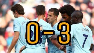 Chelsea vs Southampton (3-0) 2018 HD