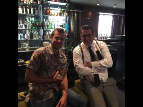 Fluent Beuchet from Compagnie des Indes talking on his rum compagnie and modern rum making (wit...