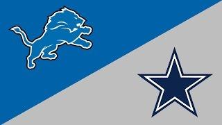 NFL Week 16 Preview: Detroit Lions/Dallas Cowboys