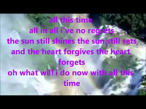 all this time - tiffany