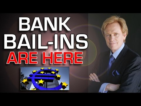 Bail In Here: Banks Have Less Than HALF A CENT For Each Dollar - Mike Maloney
