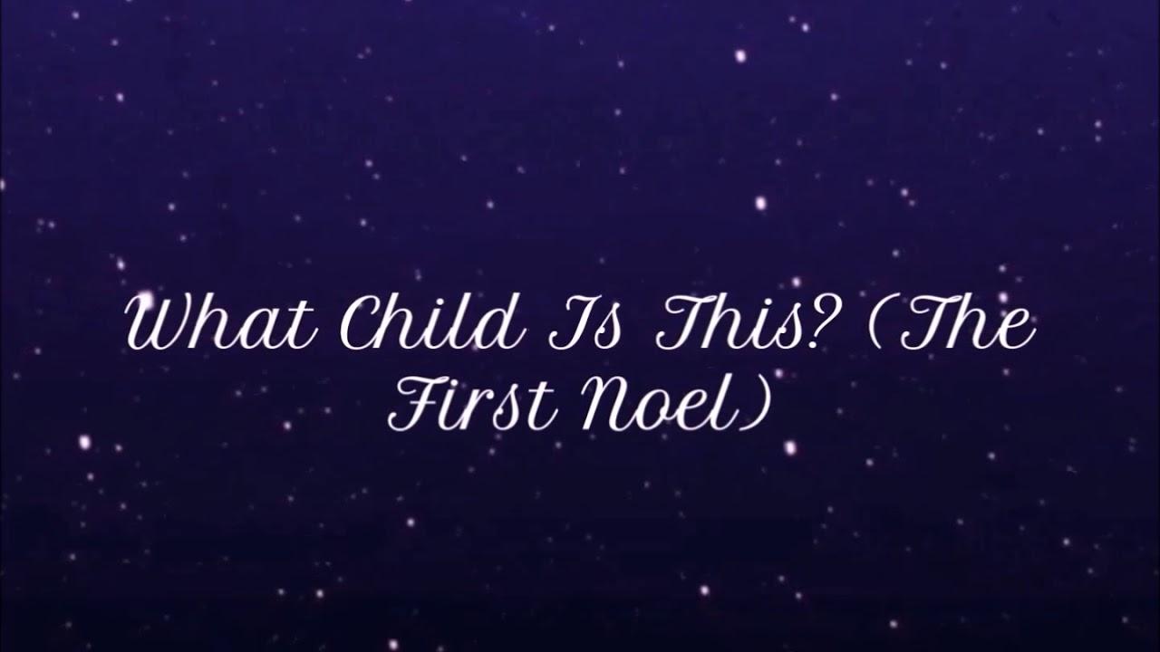 Francesca Battistelli - What Child Is This (The First Noel) (lyrics) - YouTube