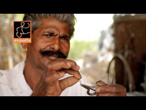 Indian folk music - Rajasthan /  Morchang - Mouth Harp / Mohan Lal Lohar (Part II)