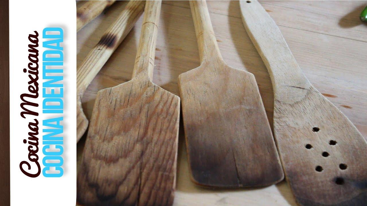 Cmo cuidar las palas de madera Secreto de Cocina Yuri