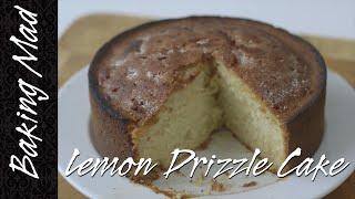 Eric Lanlard's Lemon Drizzle Cake Recipe