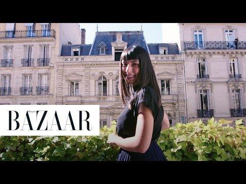 This Hair Transformation at the Balmain Salon in Paris is so Chic | BAZAAR x Paris