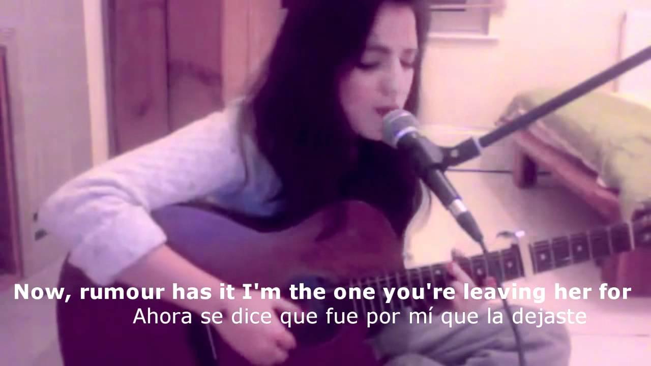Rumour Has It Adele Cover By Katem Sub Espanol E Ingles