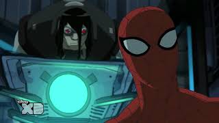Ultimate Spider-Man | Venom Bomb Fight | Disney XD