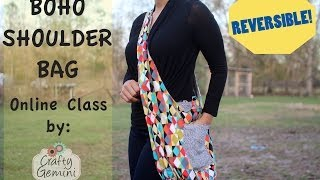 Boho Shoulder Bag- ONLINE CLASS TRAILER