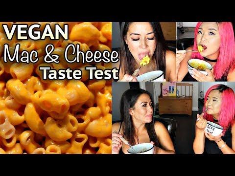 VEGAN MAC + CHEESE TASTE TEST w/ my roommate!