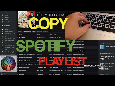 HOW TO COPY SPOTIFY PLAYLIST