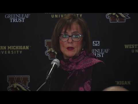 AD Kathy Beauregard speaks about the future of WMU Football