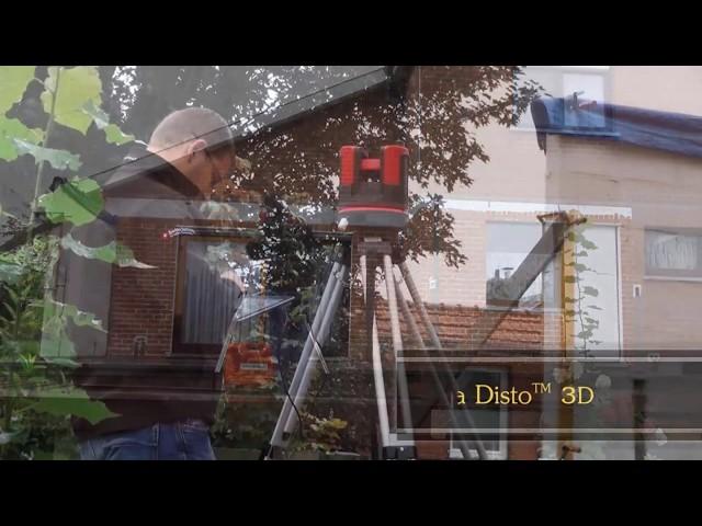 Leica 3D DISTO - Relevé laser en vue de la fabrication et de la pose d'une véranda
