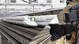 Sony a6400 vs Japan Bullet Train Shinkansen High Speed Pass!!