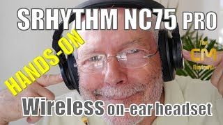 Srhythm NC75 Pro Test: Over Ear BT Headset ANC - Hands-on (deutsch, ...