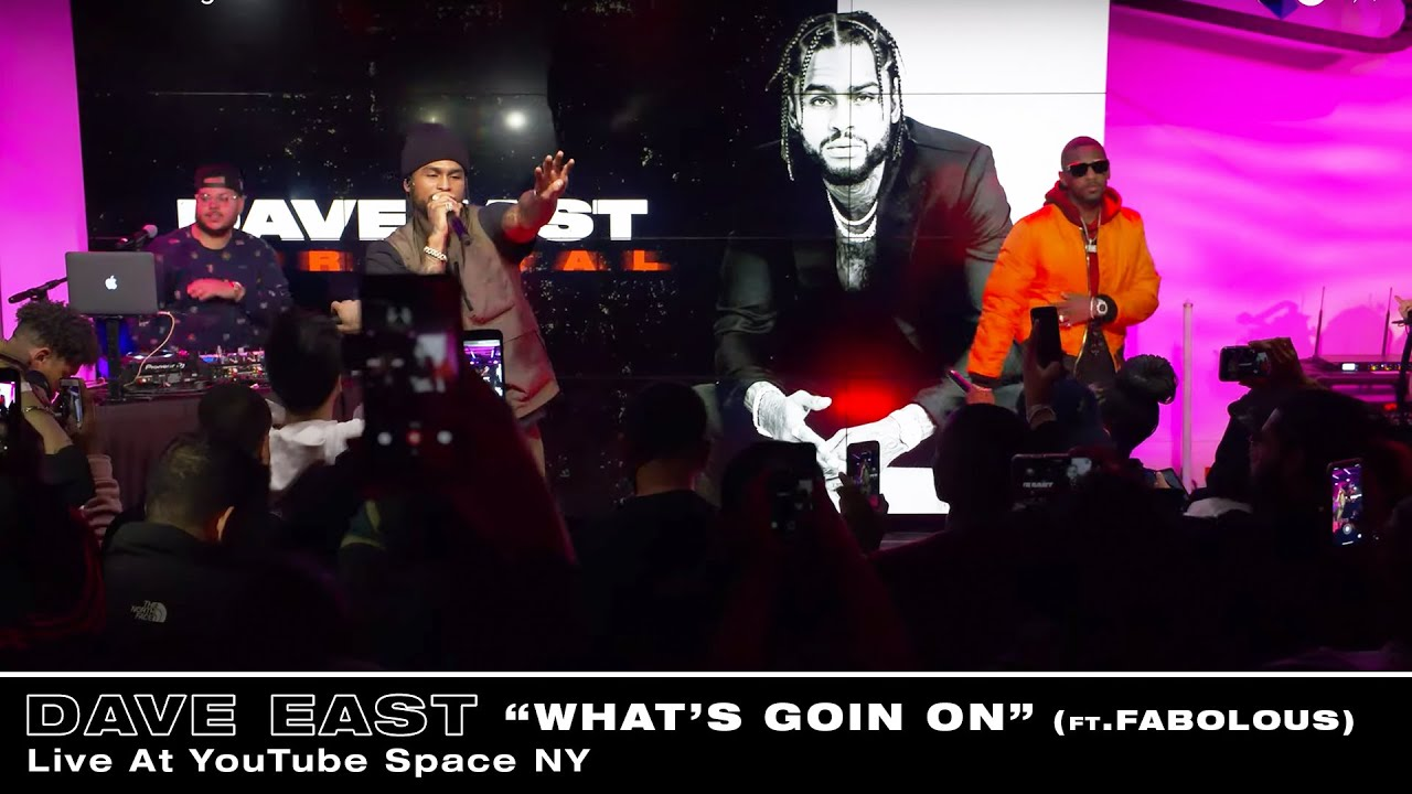 Dave East - What's Goin On (Feat. Fabolous) (Live At YouTube Space NY)