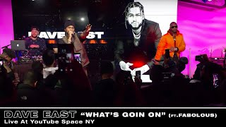 Смотреть клип Dave East Ft. Fabolous - What's Goin On