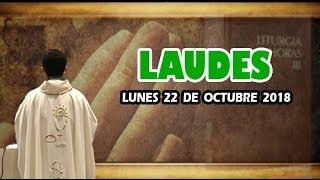 Oración de la mañana (Laudes), LUNES 22 DE OCTUBRE 2018 | Padre Sam