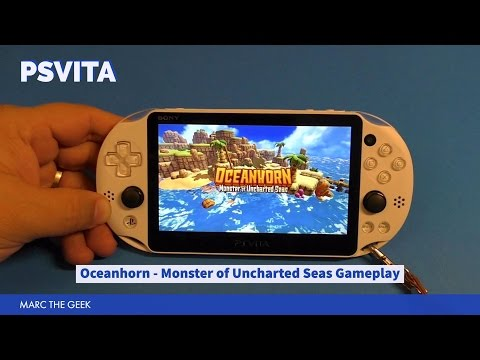PSVita: Oceanhorn - Monster of Uncharted Seas Gameplay