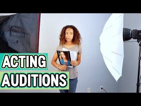 What Happens At Acting Auditions! | Makayla Lysiak