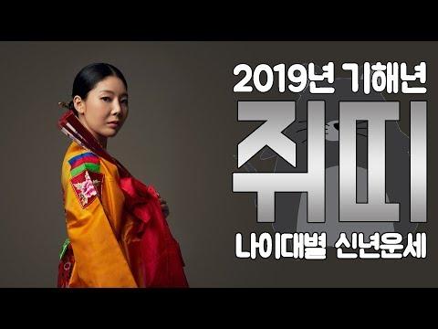 2019년 기해년 쥐띠!! 나이대별 신년운세를 알아보자