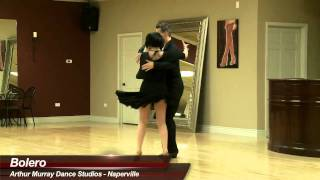 Bolero - James Dutton & Kelly Lakomy dance bolero at Arthur Murray Naperville Dance Studio