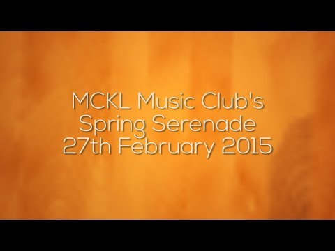 Music Club Of MCKL | Spring Serenade Musical Performance