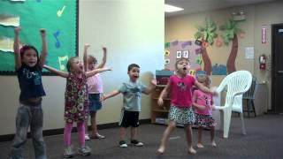 AMNA Dance AAD Fun 4 Kids (Oct 25, 2012) Chicken dance, YMCA, Macarena