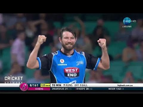 Sydney Sixers v Adelaide Strikers, BBL|07