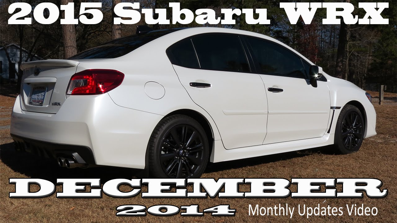 2015 Subaru WRX Limited with CVT Vinyl Wrapped / Avery ...