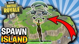 PARACHUTING BACK TO SPAWN ISLAND! (FORTNITE Battle Royale) | 3 THINGS You DIDN'T Know MYTHS