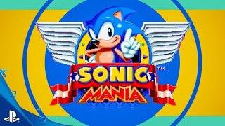 Sonic Mania - Teaser Trailer | PS4